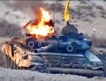 Горящий танк Т-90 в Сирии: что это было?