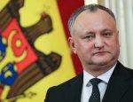 Додон назвал заявление парламента о выводе миротворцев провокацией