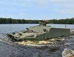 Минобороны России тестирует новый плавающий бронетранспортер БТ-3Ф