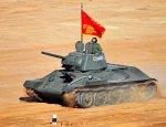 Советская танковая легенда Т-34 засветилась в боевых действиях в Ливии