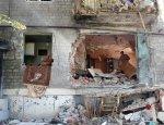 Сколько домов повреждено в Горловке за время АТО?