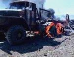 Забитый ВСУшниками «Урал» чудом выжил после наезда на противотанковую мину
