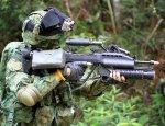 Штатная штурмовая винтовка сингапурской армии СIS SAR-21