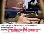 Новость о снайпере, который спас соседей от преступников, оказалась фейком