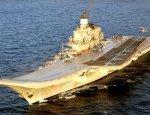 Флот отказался от модернизации авианосца «Адмирал Кузнецов»
