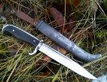 Финский армейский уставной нож М19