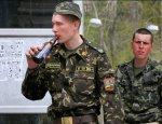 Пьяный ВСУшник порезал двух офицеров