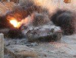 Массированный удар боевиков в Хаме: сожженные БМП, танк и более 100 трупов