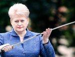 Даля Грибаускайте не верит в свою армию: Литва просит у США системы ПРО