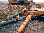 «Леопард» без башни: появились фото полностью уничтоженных турецких танков