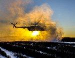 Украинский военный вертолёт сбили из охотничьих ружей