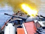 Демонстрационные стрельбы из новейших корабельных орудий