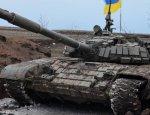 Колонна бронетехники ВСУ попала в ДТП