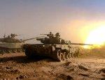 Из танковой башни: появилось редкое видео работы Т-90 САА под Эль-Бабом