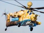 Ми-28Н ведет бой с ИГИЛ: опубликовано панорамное видео