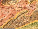 Сирийская армия освободила большую территорию к юго-востоку от г Кариатен