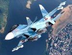 20 секунд на одном месте: Впечатляющее видео маневров Су-30СМ на МАКС-2017