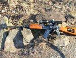 Иракская снайперская винтовка Tabuk
