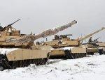 Фотофакт: американские танки M1A2 Abrams на учениях в Польше