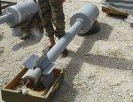 Сирийцы опубликовали фото самодельных ракет внушительных размеров