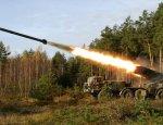 РСЗО и ствольная артиллерия устроили «противнику» жаркую встречу