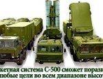 Анонсировано поступление в войска новейшей системы С-500 «Прометей»