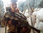 Неизвестный ДНРовский снайпер одним выстрелом снял неопытного солдата ВСУ