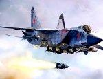 МиГ-31 сбил сверхзвуковую ракету в стратосфере