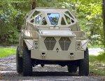 Опытный бронеавтомобиль Ultra принявший участие в конкурсе на замену HMMWV