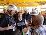 Хугу в поселке Трудовские показали настоящего Порошенко