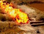 В Сирии засветился американский «Змей Горыныч» — установка M58 MICLIC