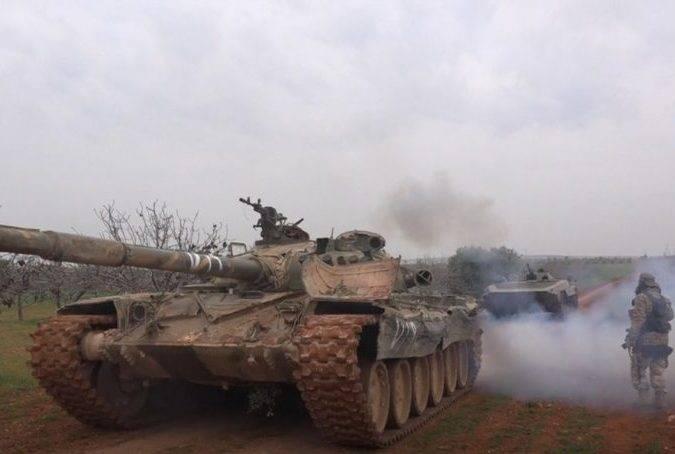 Сирийская армия отразила наступление исламистов в провинции Хама