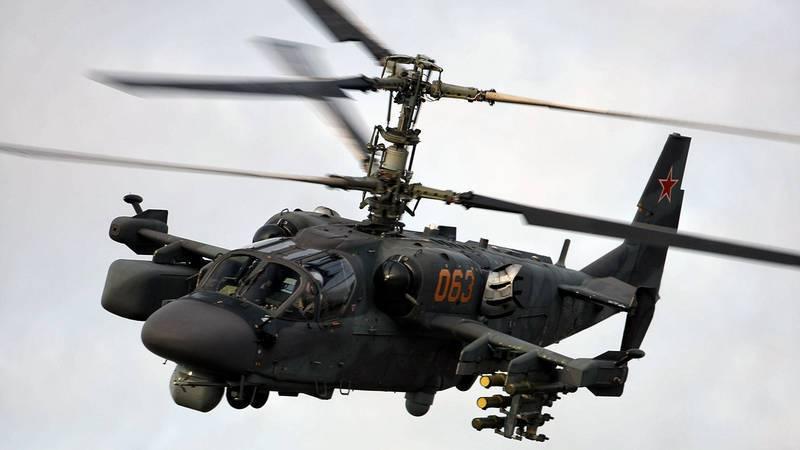 Уничтожение террористов вертолетами ВКС РФ в Сирии попало на видео