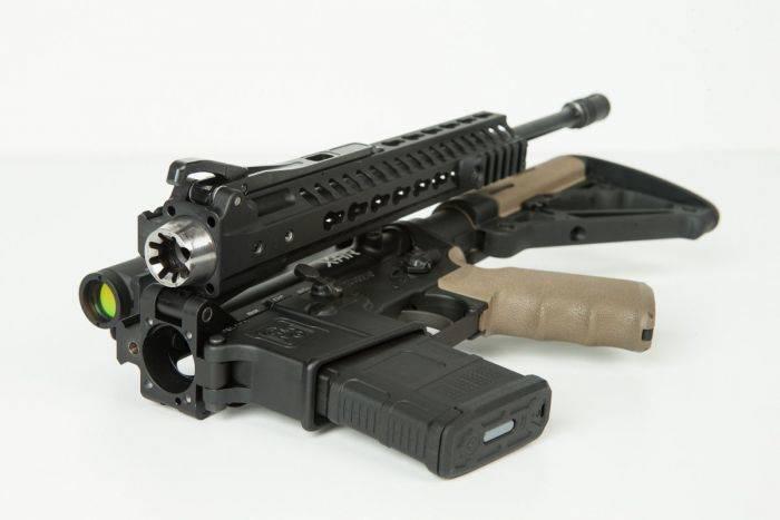 Американцы выпустили складную штурмовую винтовку AR-15