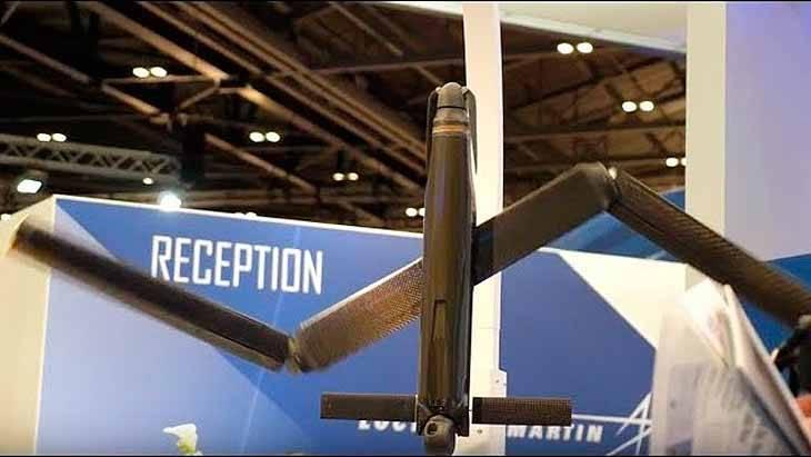 Британия представила складной БПЛА «Outrider» для запуска с  подлодок