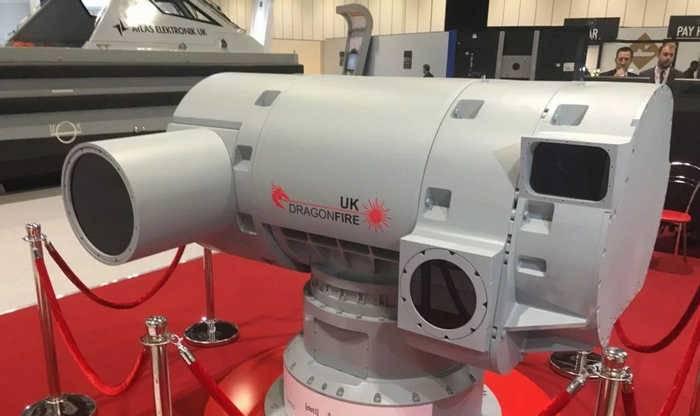 LDEW: Прототип британского боевого лазера