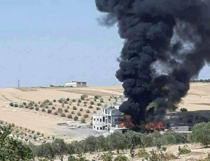 Война в Сирии. Наступление «Ан-Нусры» в Северной Хаме