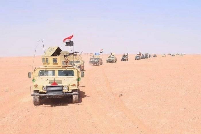 Иракская армия начала наступление на район Хавиджа в провинции Киркук