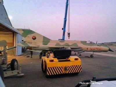 ЮАР передали Анголе захваченный в 1988 году МиГ-21бис