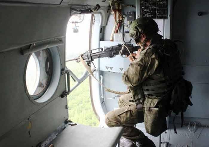 Спецназ ВВО нанес двойной удар по лагерю условных террористов