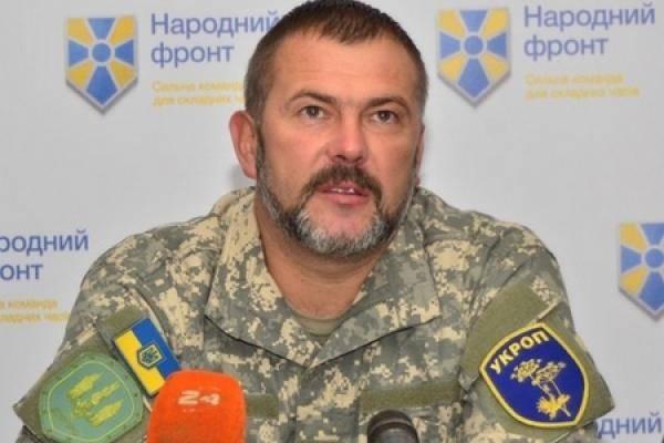 Береза: ВСУ возьмут границу с Россией на Донбассе без захода в Донецк