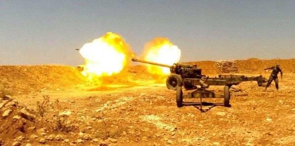 Боевики атаковали Алеппо, но были обнаружены дронами ВКС и подавлены огнём