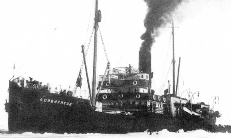 Ледокол против крейсера