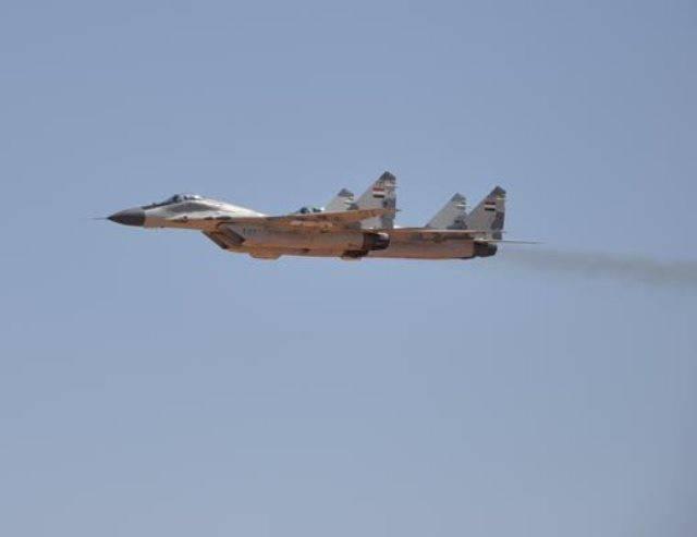 Сирийские МиГ-29 вооружены новейшими ракетами Р-77