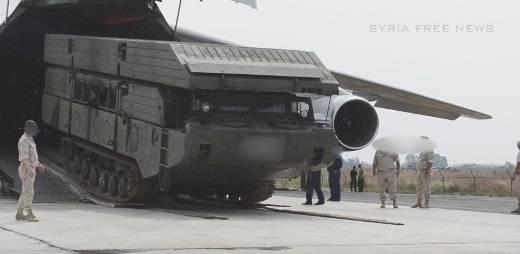 В Сирию Ан-124 перебросил ПММ-2М