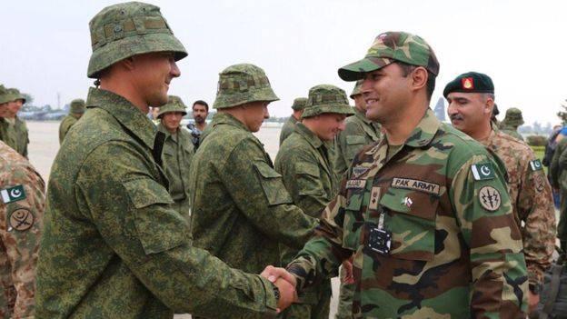70 горных стрелков из Пакистана прибыли на учения в Южный военный округ