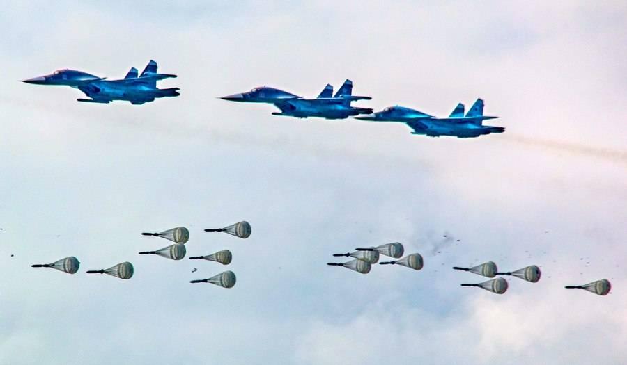 ВКС совершили массированный авианалёт на провинцию Идлиб: кадры ударов