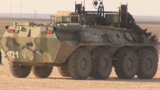 В Сирии объявился бронированный помощник БТР-80 и БТР-82А