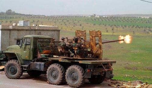 В Сирии половина