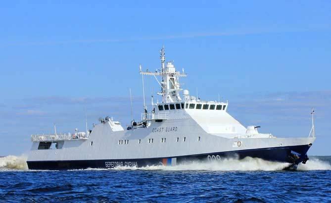 Проект 22460: новейший боевой корабль «Преданный» готов